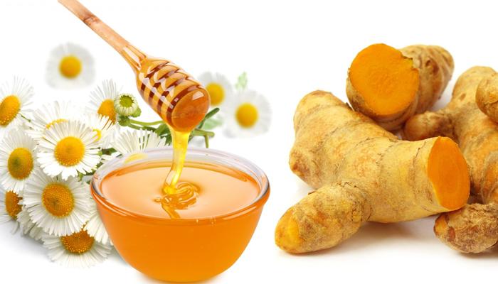 cách trị mụn bằng nghệ và mật ong 2