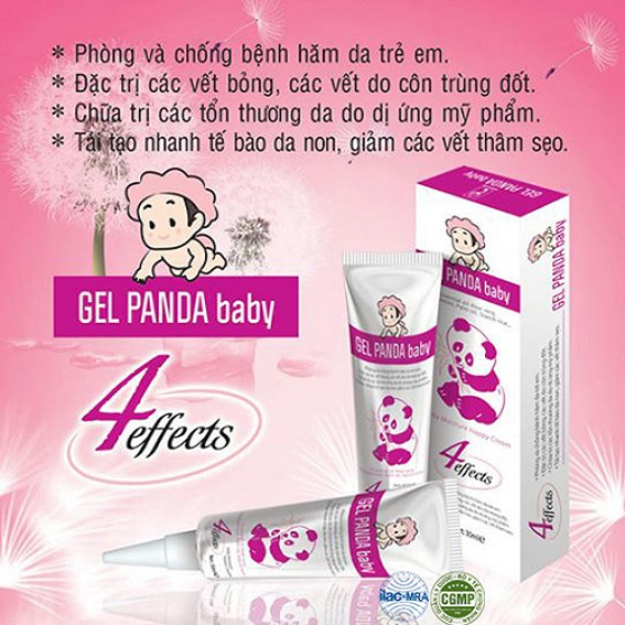 Gel thảo dược Panda Baby dành cho bé yêu